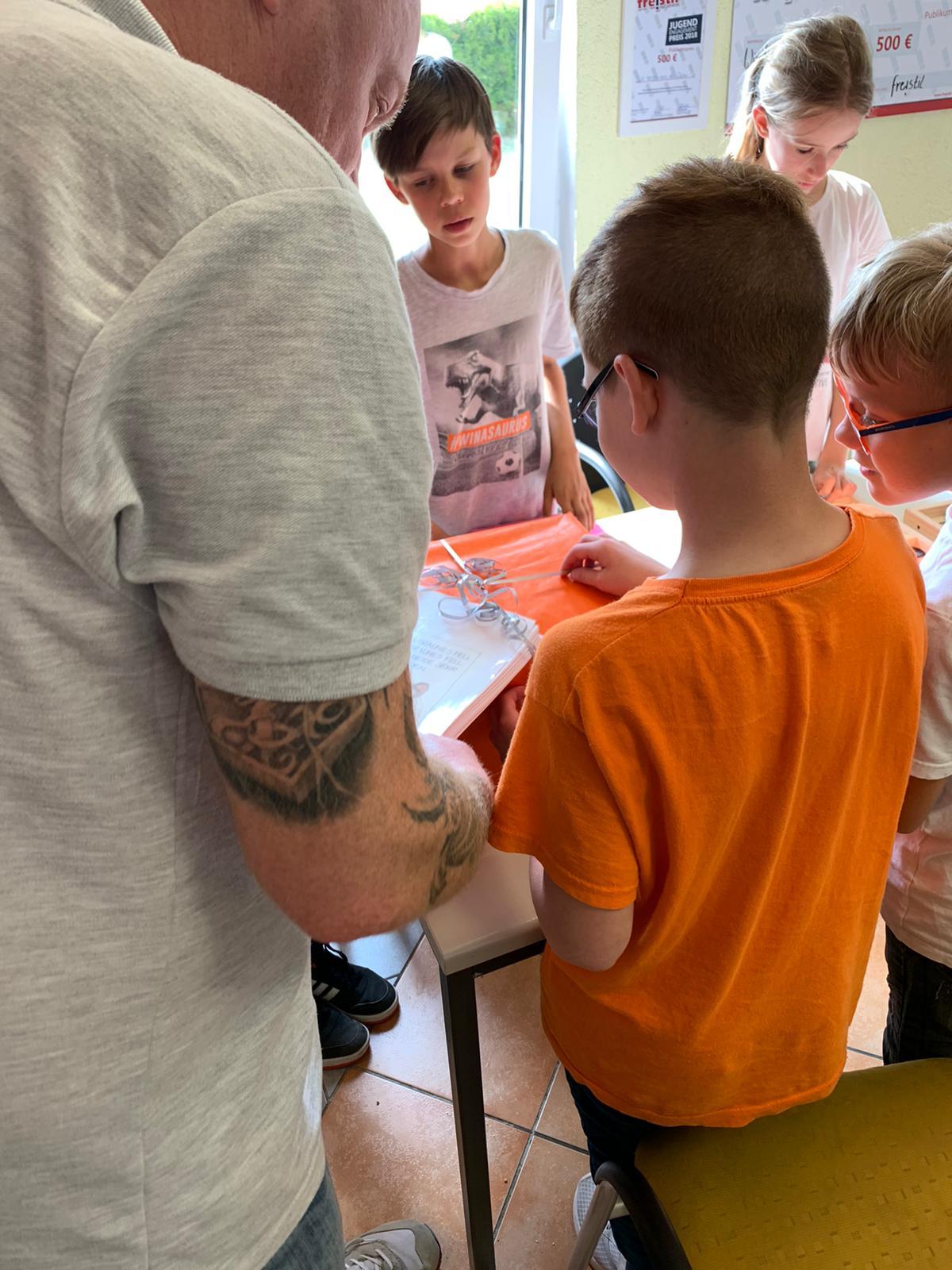 Kindertag im Jugendclub Elster (Elbe)